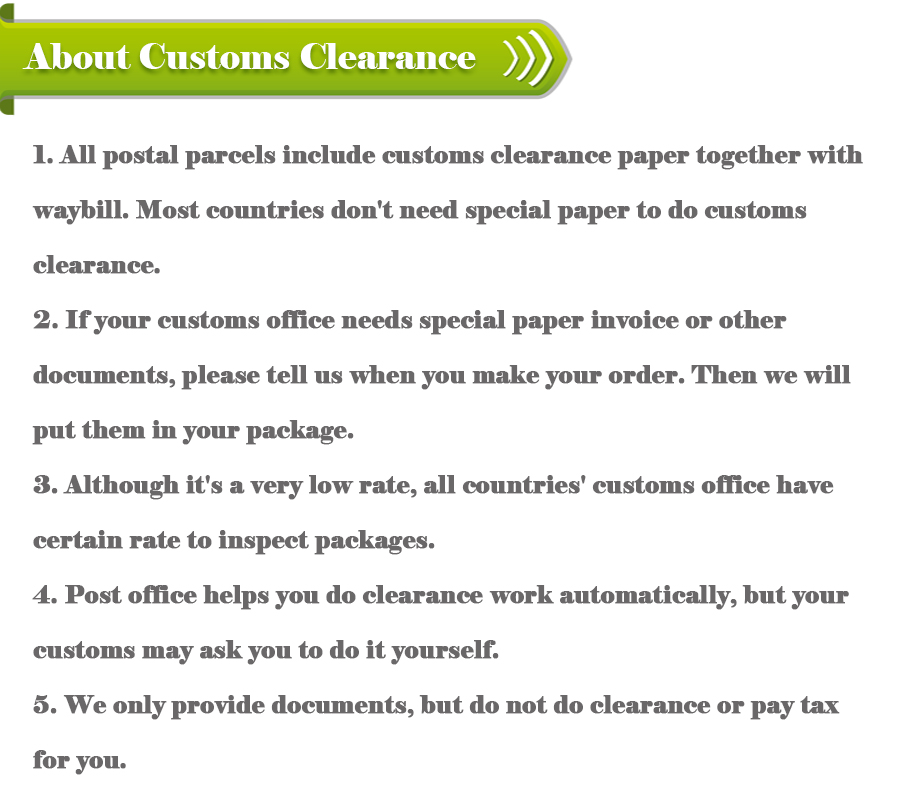 About Customs Clearance
