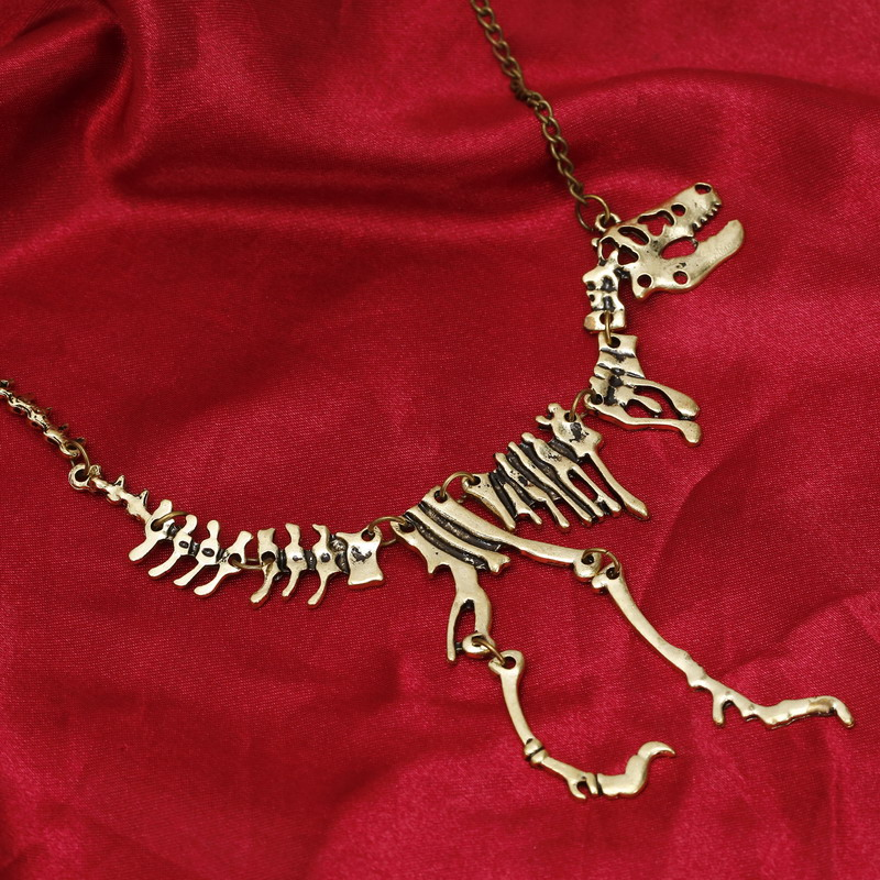 Set of 10 Mini Frame Pendant Charm Tyrannosaurus Rex Dinosaur DIY Jewelry Making