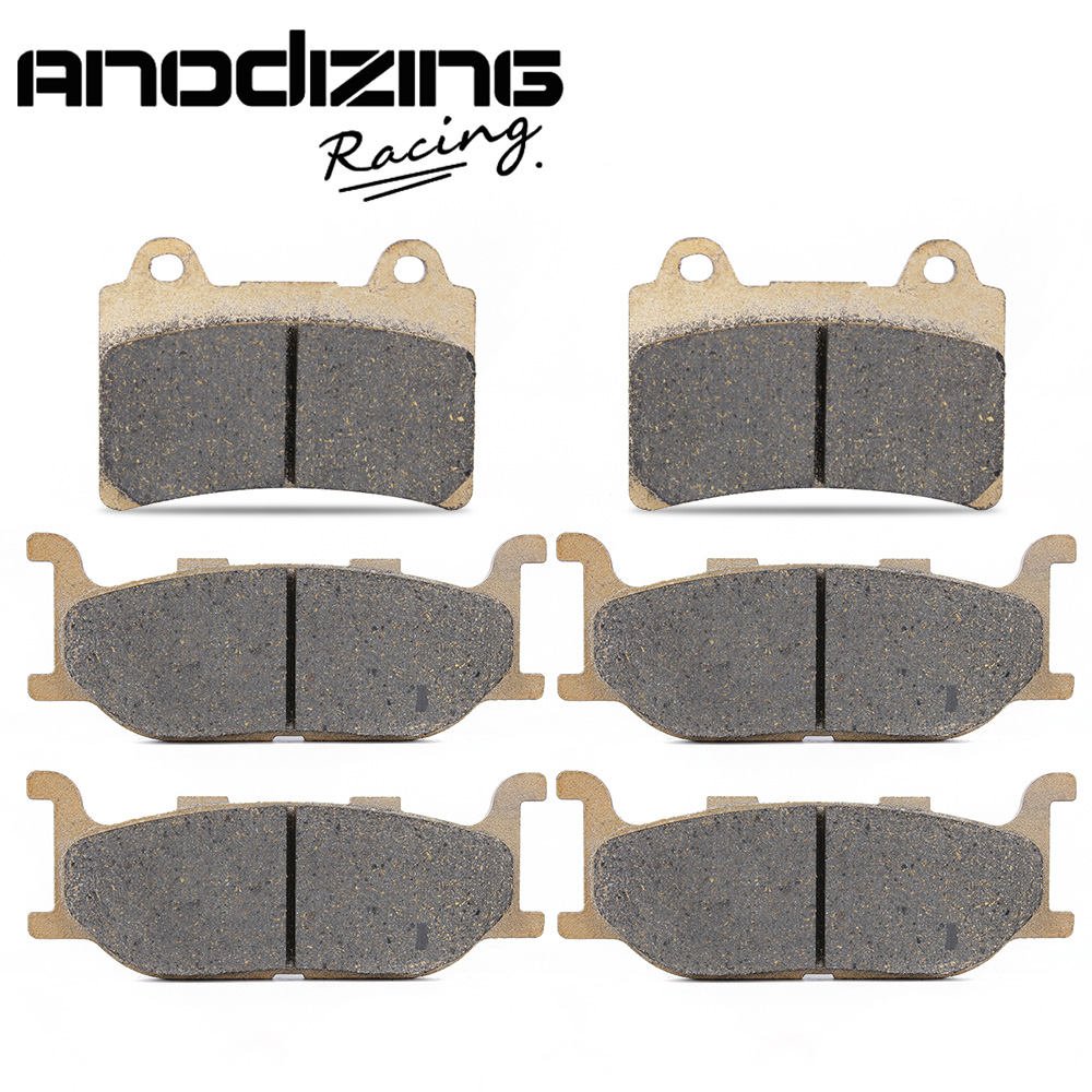 Motorcycle Front and Rear Brake Pads for YAMAHA XVZ1300 XVZ 1300 Royal Star Venture S 2008-2013 / Venture 1999-2001 motorcycle front and rear brake pads for yamaha xvs 1300 ctw ctx v star 1300 tourer 2007 2010 black brake disc pad