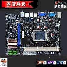 100% New motherboard H61 H61V LGA 1155 DDR3 for INTEL G530 G630 cpu H61 Desktop motherboard Free shipping