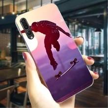 Skateboarding Sport Hard Cover for Huawei Honor 10 Fashion Phone Case  Back shell