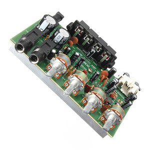 Image 4 - 9cm x 13cm Electronic Circuit Board 12V 60W Hi Fi Stereo Digital Audio Power Amplifier Volume Tone Control Board Kit