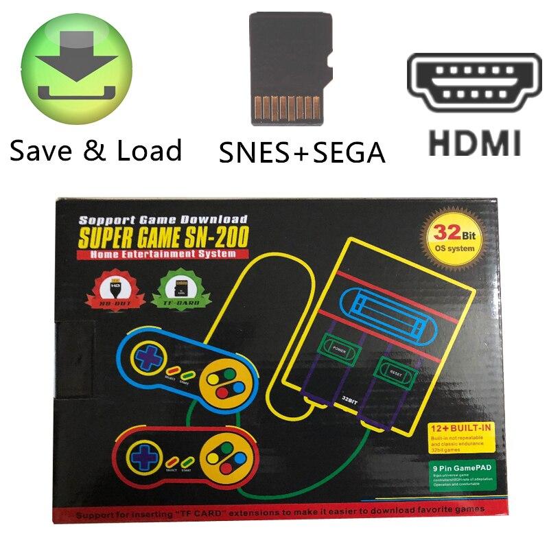 Professioneller Verkauf Hdmi Hd Heraus Super Classic Game Konsole Für Mit Supergames Und Sega Spiele 32bit Unterstützung Hinzufügen Spiele Sparen Spiel Fortschritte Unterhaltungselektronik