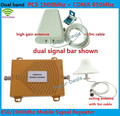 Mini Dual Band Mobile 3G Phone Signal Booster 850 MHz 1900 MHz CDMA PCS Signal Repeater Cell Phone Signal Amplifier with Antenna