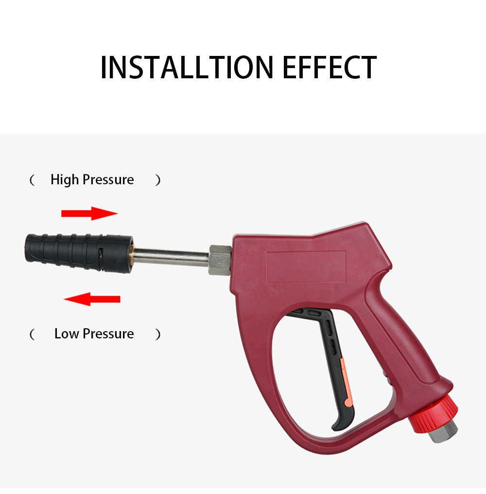 Verstelbare hoge en lage druk nozzle G1/4 connector hoge druk auto wasmachine accessoire waterpistool nozzle Stad Wolf