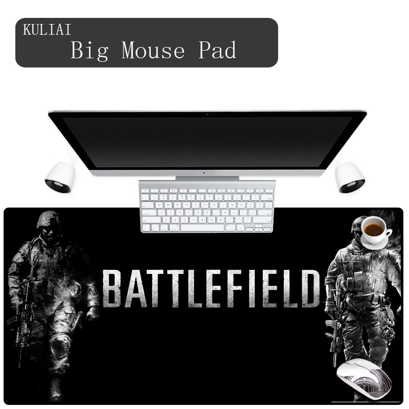 XGZ Custom Size Thick Professional Gaming Mouse Pad Gamer Battlefield 3 Large Notbook Computer Mat Laptop Play Padmouse