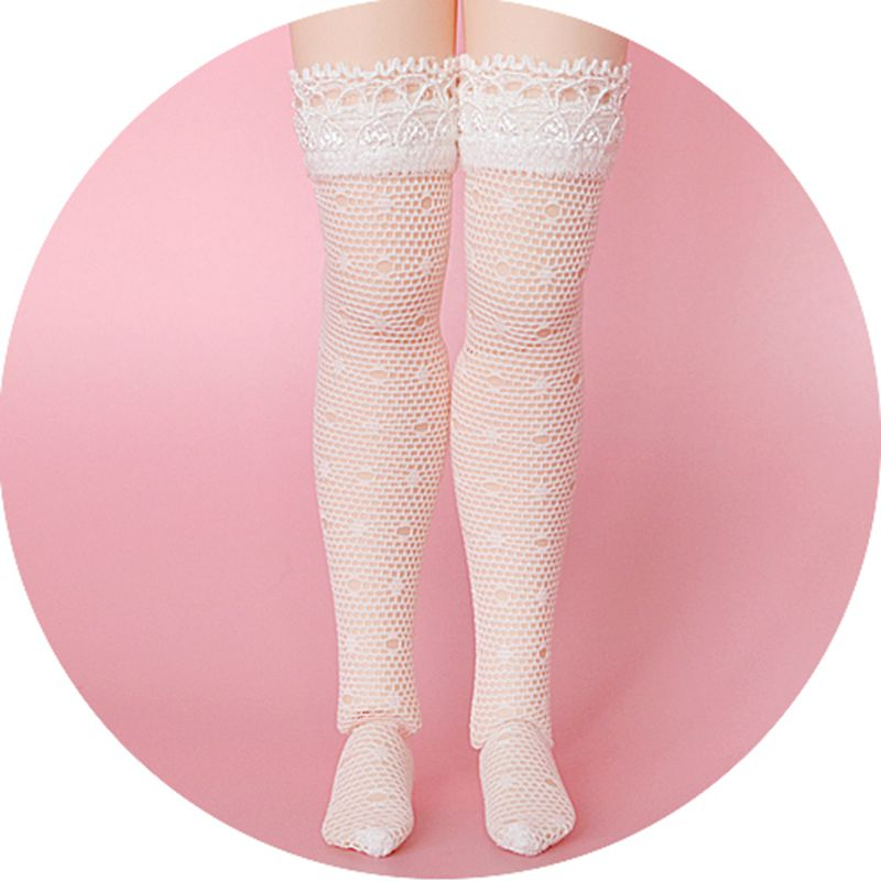 1 пара узорчатых кружевных носков для куклы блайз длинные чулки Барби носки для кукол блайз, Ликка, азон S, oB24 аксессуары для кукол