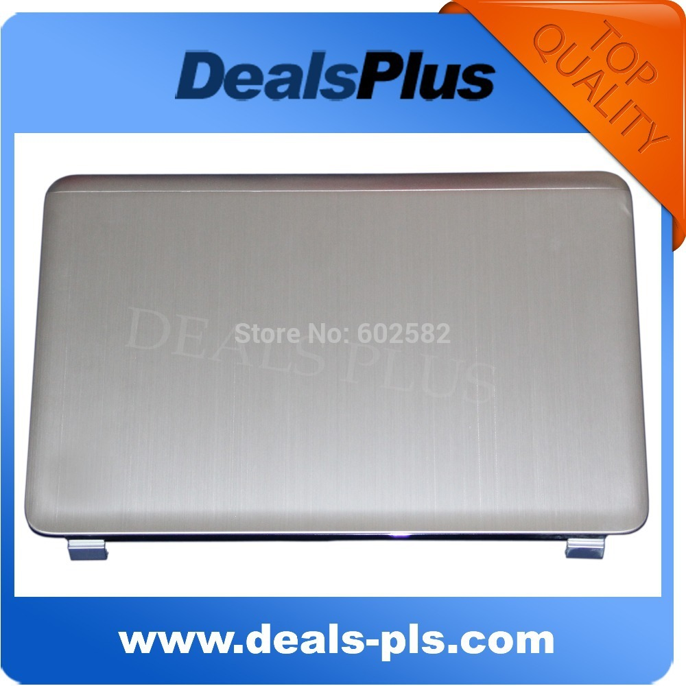 95% New Silver Laptop LCD Back Cover Case A Shell For HP For Pavilion DV7-6000 665977-001 genuine new original bottom shell base cover lower case laptop replacement 665978 001 680944 001 for hp pavilion dv7 dv7 6000