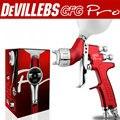 Atacado e varejo Devillebs GFG profissional pistola HVLP pistola de pintura do carro, boa atomização 1.4mm pintura pistola pulverizador