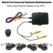 Tire Stress Monitoring System TPMS for Automobile DVD with Inside Sensors Help Excessive Low Stress Temperature Alarm