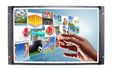 все цены на 8 10 12 15 19 inch LCD Monitor Open Frame touch Screen all in one pc wifi 1920*1080 HD CCTV monitor display онлайн