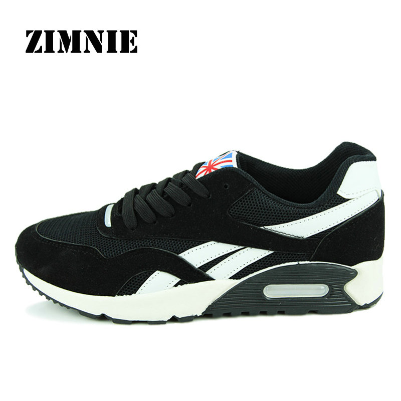 ZIMNIE New Brand Men Sport Air Cushion Shoes Outdoor Walking Jogging Sneakers For Men Mesh Mens Sports Shoes Running Shoes