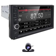 "Autoradio Universel Quad Core 7 ""1024*600 Double 2 Din Android 6.0 Voiture DVD GPS Navigation + 3G wifi Bluetooth Audio Stéréo Radio"