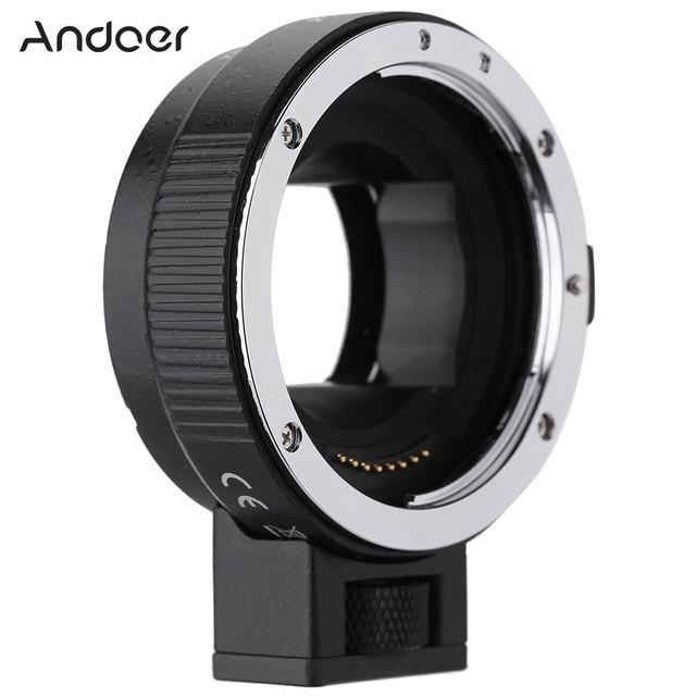 Andoer Lấy Nét Tự Động AF EF NEXII Adapter Ring Cho Ống Kính Canon EF EF S Ống Kính Để Sử Dụng Cho Sony NEX E Mount 3/3N/5N/5R/7/A7/A7R/ Full Nguyên Bộ