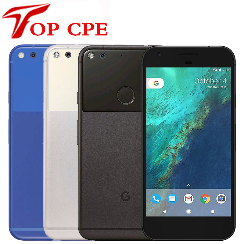 Original Unlocked Google Pixel 5.0''/Pixel XL 5.5'' Inch Quad Core Single Sim 4G Android Cellphone 4GB RAM 32GB ROM Mobile Phone