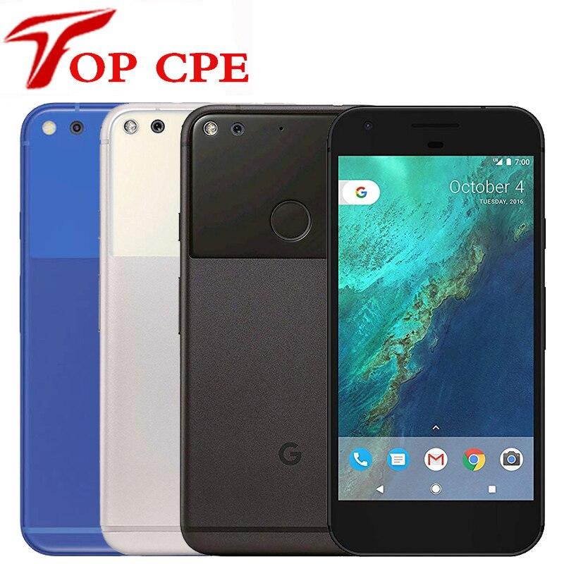 Оригинальный разблокированный Google Pixel 5,0 ''/Pixel XL 5,5 ''дюйма с четырехъядерным процессором Core с одной sim-картой 4G мобильный телефон Android 4 Гб Опер...