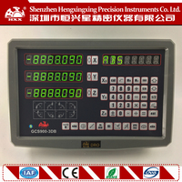 hxx new 3 axis dro display GCS900-3DB digital readout with one piece for all machines free shipping
