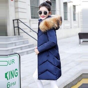 Γυναικείο σακάκι Χειμερινό ημίπαλτο κουκούλα με γουνάκι Γυναικεία Παλτό Ρούχα MSOW