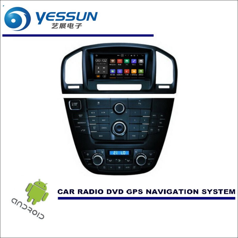 YESSUN For Vauxhall For Holden For Buick Insignia 2009~2016 Car Multimedia Navigation CD DVD GPS Player Navi Radio Stereo Screen yessun car android navigation for opel astra j vauxhall holden gtc radio stereo cd dvd player gps navi screen multimedia