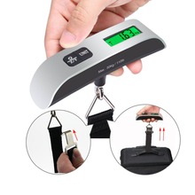 50kg/10g Useful LCD Digital Hanging Luggage Scale Travel Electronic Weight