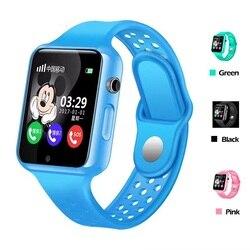 G98 dzieci inteligentny zegarek wodoodporny android ios z urządzenie śledzące gps na bluetooth SOS zadzwoń czat głosowy Facebook zegarek dla dziecka dziecko Inteligentne zegarki    -