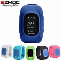 SZMDC CHAUDE Q50 montre Smart watch Enfants Enfant Montre-Bracelet GSM GPRS GPS Locator Tracker Anti-Perte Smartwatch Enfant Garde pour iOS Android
