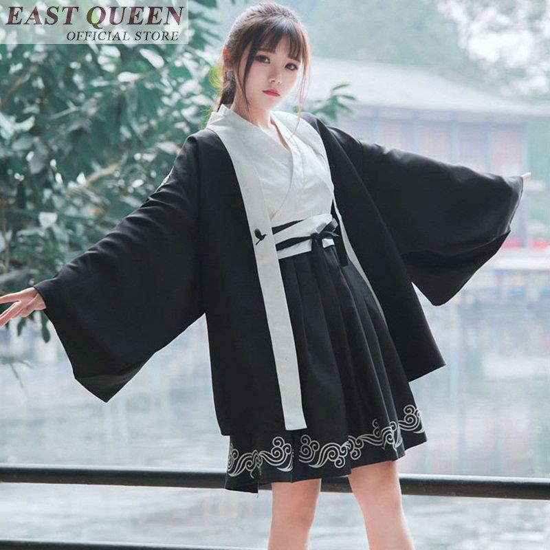 Japanese dress cosplay cute kimonos woman 2018 yukata women female cosplay costume FF570 A