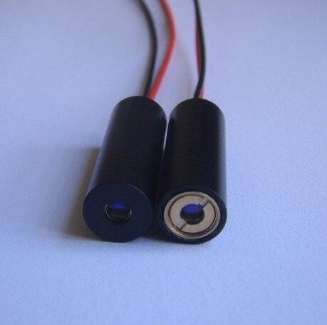 ФОТО 80mW 445-450nm BLUE laser module Dot  beam shape,  DC5.5-7V