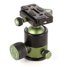 Universal 20KG Metal Heavy Duty Camera Tripod Ballhead with Quick Release Plate 1/4 Screw