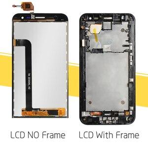 "Image 3 - 5 ""asusのzenfone 5 2 レーザーZE500KL液晶ディスプレイタッチデジタイザーアセンブリasus ZE500KL液晶画面フレーム交換"