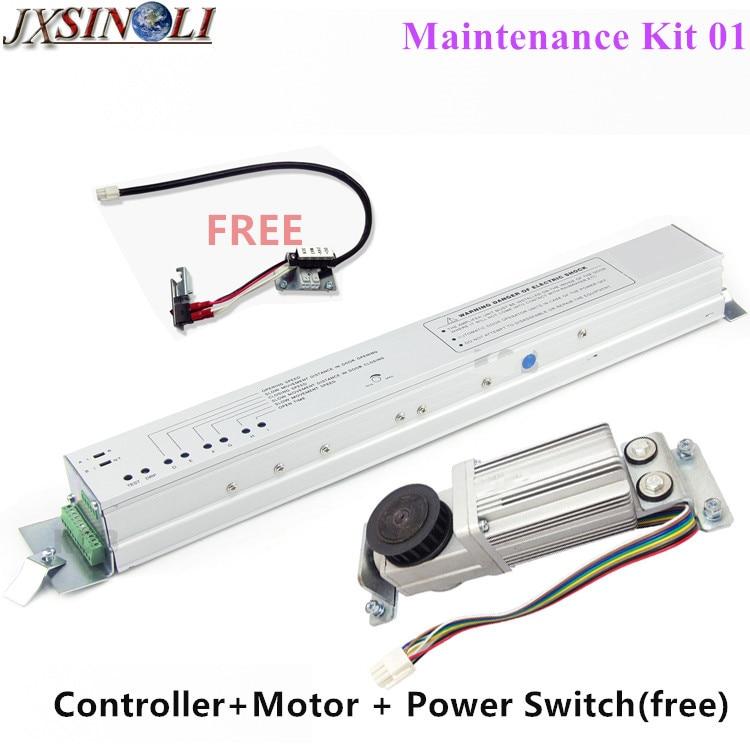 Automatic Sliding Door Maintenance Kit Including Controller+ Motor+ Power Switch (free) межкомнатная дверь shunxiang i sliding door