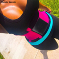 Wonder Beauty Waist Cincher Girdle Slimming Belt Latex Neoprene Sweat Waist Trainer XL XXL Plus Size Shaper For Weight Loss