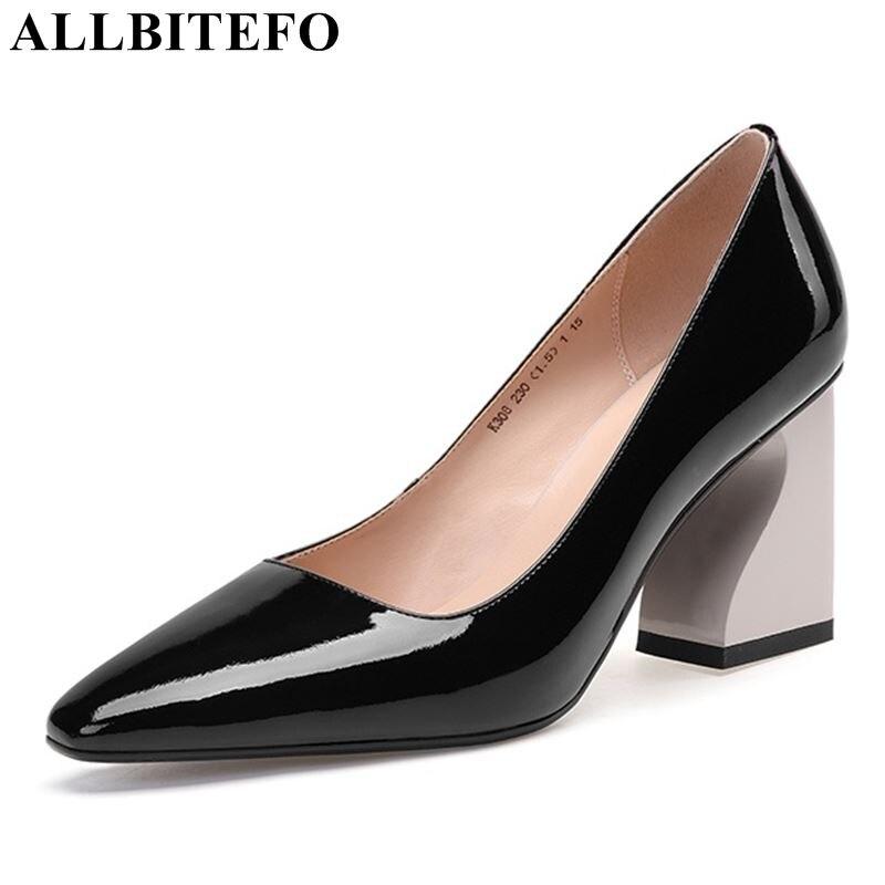 41d092e61a4562 Véritable Été As Filles Hauts Cuir Allbitefo Picture Sexy Talons Dames  Frais Sabot En Picture Femme as Printemps De À Chaussures ...