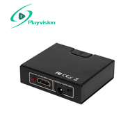 Playvision 4K Hdmi Splitter 1 In 2 Out 1X2 Support 4K Hdmi 1 4 3D Hdtv