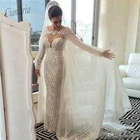 2019 Hot Sale White/ivory Chiffon Wraps Appliques Lace Wedding Jacket Bridal Cloak Lace Bridal Dress's Cape