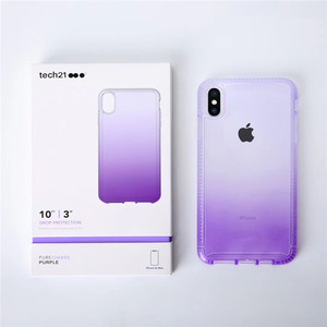 Image 2 - Pure Ombre Case For Apple iPhone XR XS MAX Effect Drop Protection Slim Profile Tech21 Case For Apple iPhone XS Max 11 Pro Max