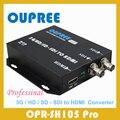 3G HD SD SDI para HDMI Converter Box, suporte 3G HD SD SDI Sinais de Saída para 1080 P 60Hz HDMI Adaptador