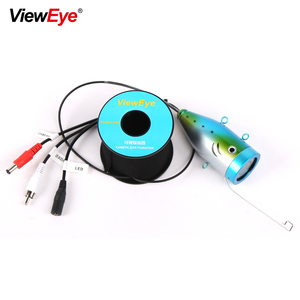 Image 5 - ViewEye Single Underwater Fishing Camera Accessories For 7 inch Fish Finder 12 LED IR Infrared Lamp Or Bright White LED