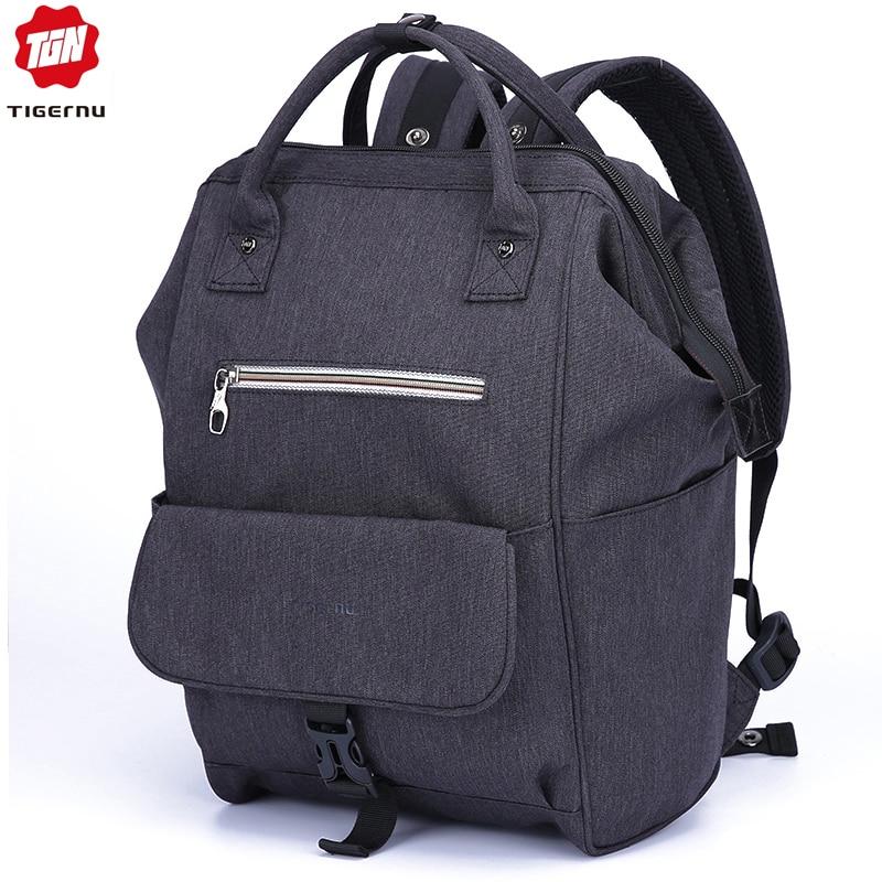 Tigernu Fashion Travel Female Mochilas Feminina 14.1 Women School Bag  Kanken Backpacks for Teenage Girls Baby Bags for Mom 5843d63bfa748