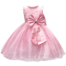 Girls Dress 3D Rose Flower Girl Princess Kids Clothes Party Wedding Birthday Baby for