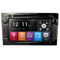 7 2din In dash car tape recorder radio stereo DVD GPS navigation for Opel Vauxhall with AM FM RDS GPS bluetooth world MAP