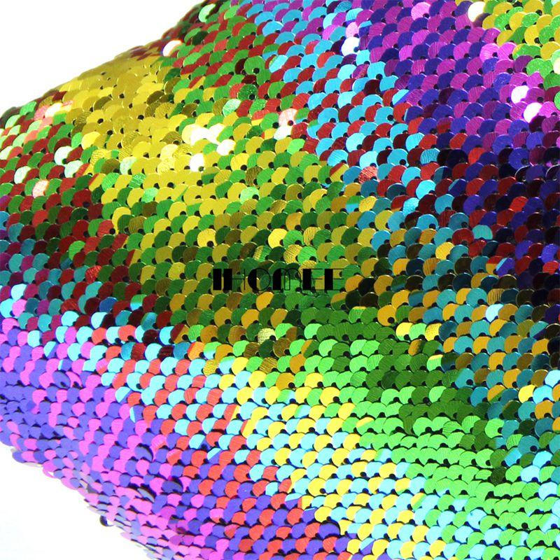 IHOMEE 심장 모양의 인어 베개 장식 베개 소파 가역 - 홈 섬유 - 사진 6