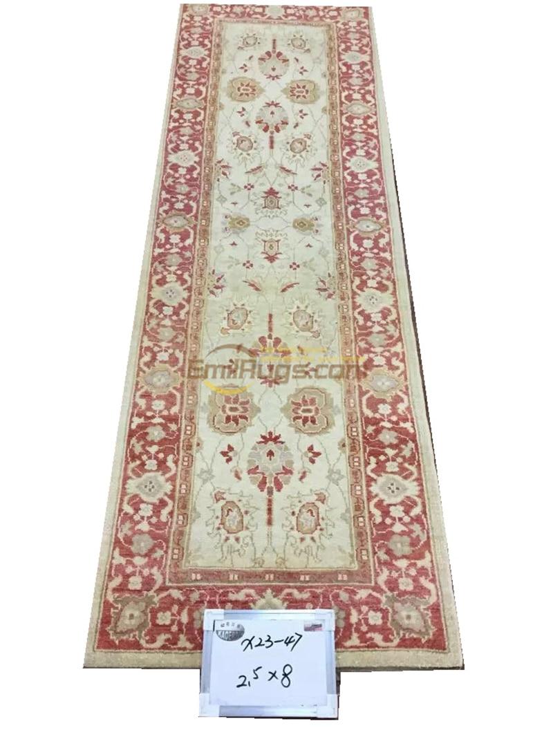 Original single export Turkish handmade carpets OUSHAK Ozarks pure wool carpet  X23-47 2.5X8gc158zieyg14Original single export Turkish handmade carpets OUSHAK Ozarks pure wool carpet  X23-47 2.5X8gc158zieyg14