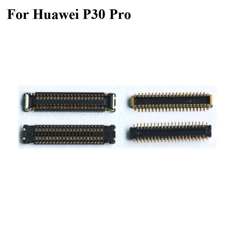 2pcs FPC <font><b>connector</b></font> For Huawei P30 pro LCD <font><b>display</b></font> screen on motherboard mainboard / on flex cable For Huawei P 30 pro P30Pro image