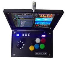 2019 china online shopping Double arcade games console Pandora board use button and joystick цена