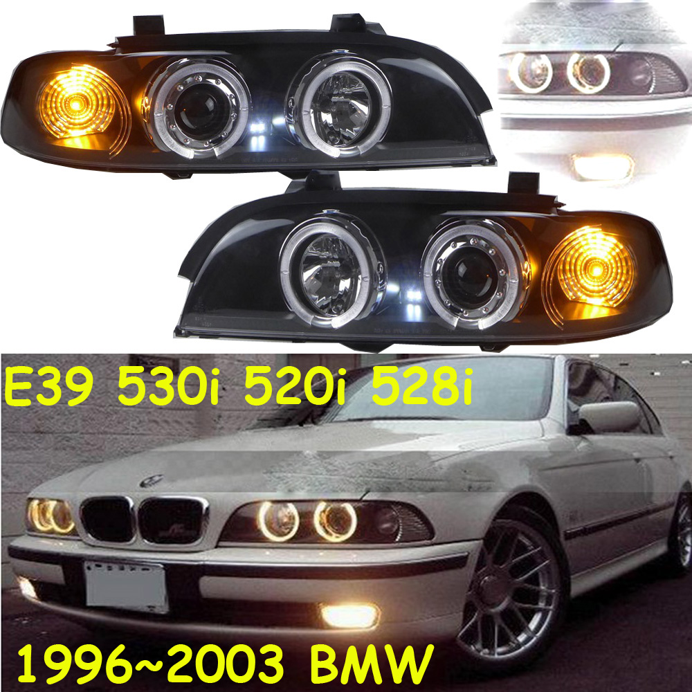 HID,1996~2003 Car Styling for BNW E39 Headlight,530i 520i 528i,canbus ballast,i318 i320 i325;E39 Fog lamp,E39 head lamp 2pcs right left fog light lamp for b mw e39 5 series 528i 540i 535i 1997 2000 e36 z3 2001 63178360575 63178360576