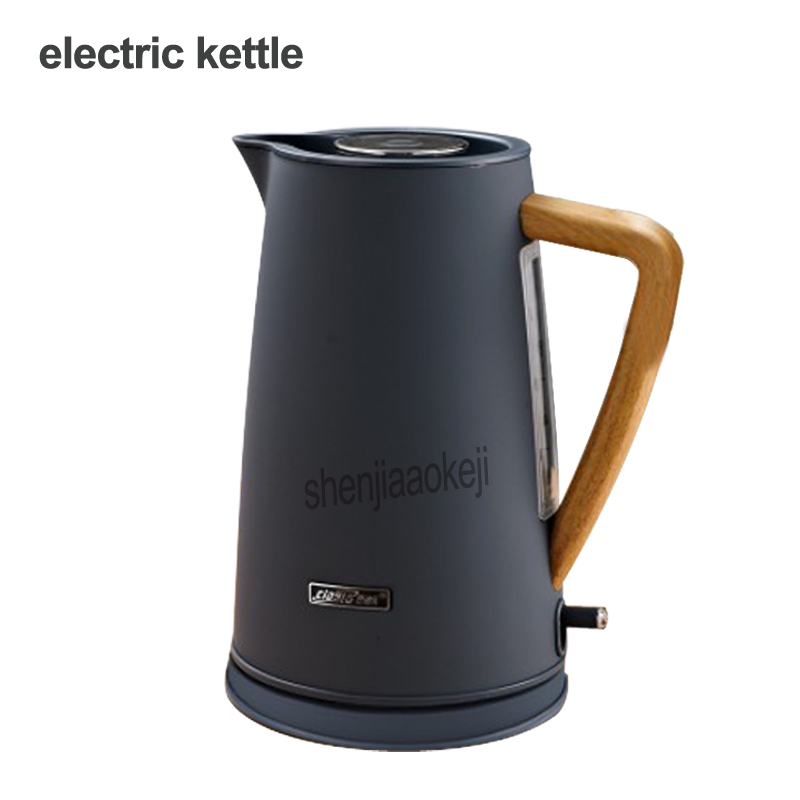 1.7L Household Electric Kettle Automatic Power Off Electric Kettle Stainless Steel Tea Pot Heating Water In 4-6 Mins 220V 1800W