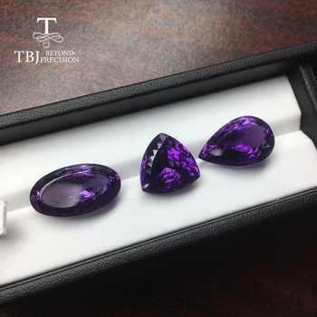 Natural Brazil loose gemstone amethyst top color bird nest cutting semi precious stone for diy jewelry - DISCOUNT ITEM  10% OFF All Category