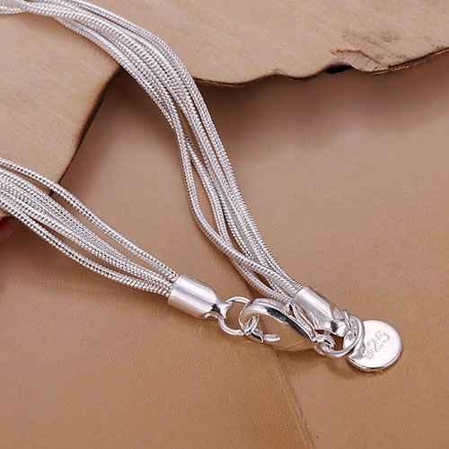 Miễn phí vận chuyển 925 trang sức bạc mạ jewelry bracelet fine fashion bracelet top chất lượng bán buôn và bán lẻ SMTH243