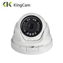 KingCam 1080 мм объектив широкоугольный Металл POE IP камера 960 P 720 2,8 безопасности Открытый ONVIF сети видеонаблюдения Купольная ipcam